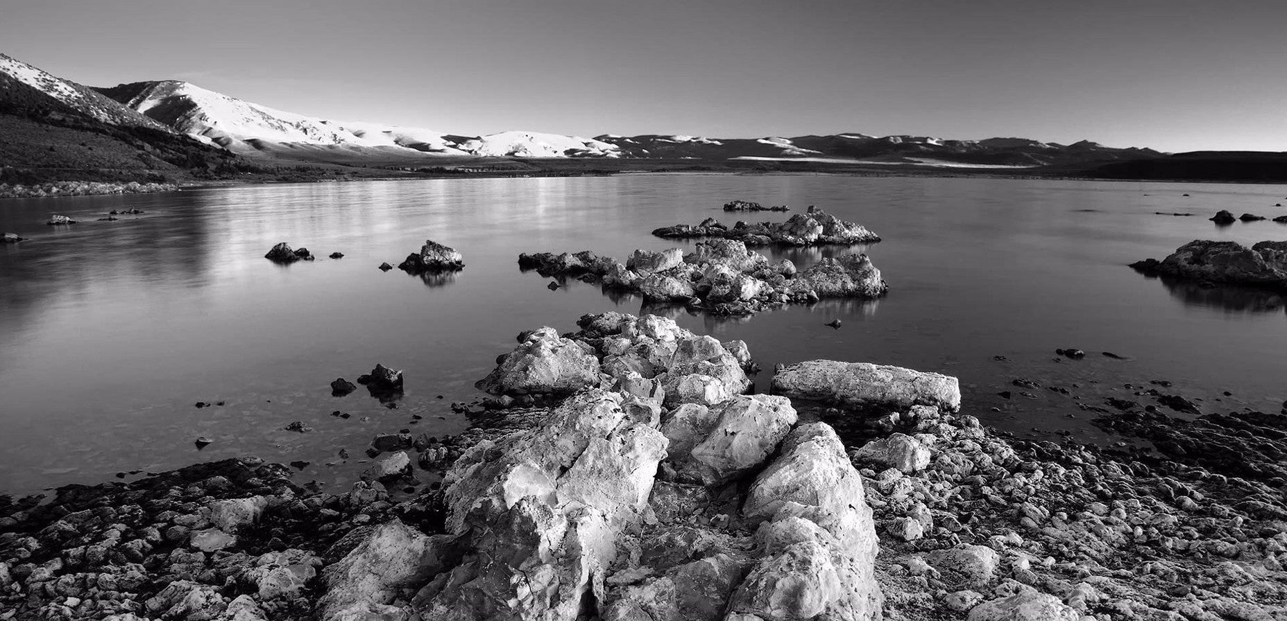 Mono in black and white fine art print by pacheco mono lake