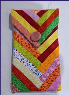 Braided Eye Glass Case - Free Pattern (with purchase of Sew and Fold braid paper)