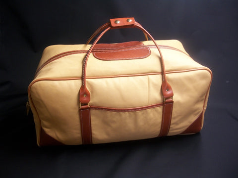Leather Traditional Duffle
