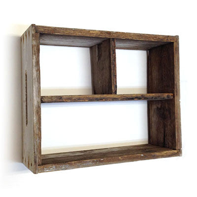 "Shadowbox - Large Horizontal Thirds (20""x16"")"