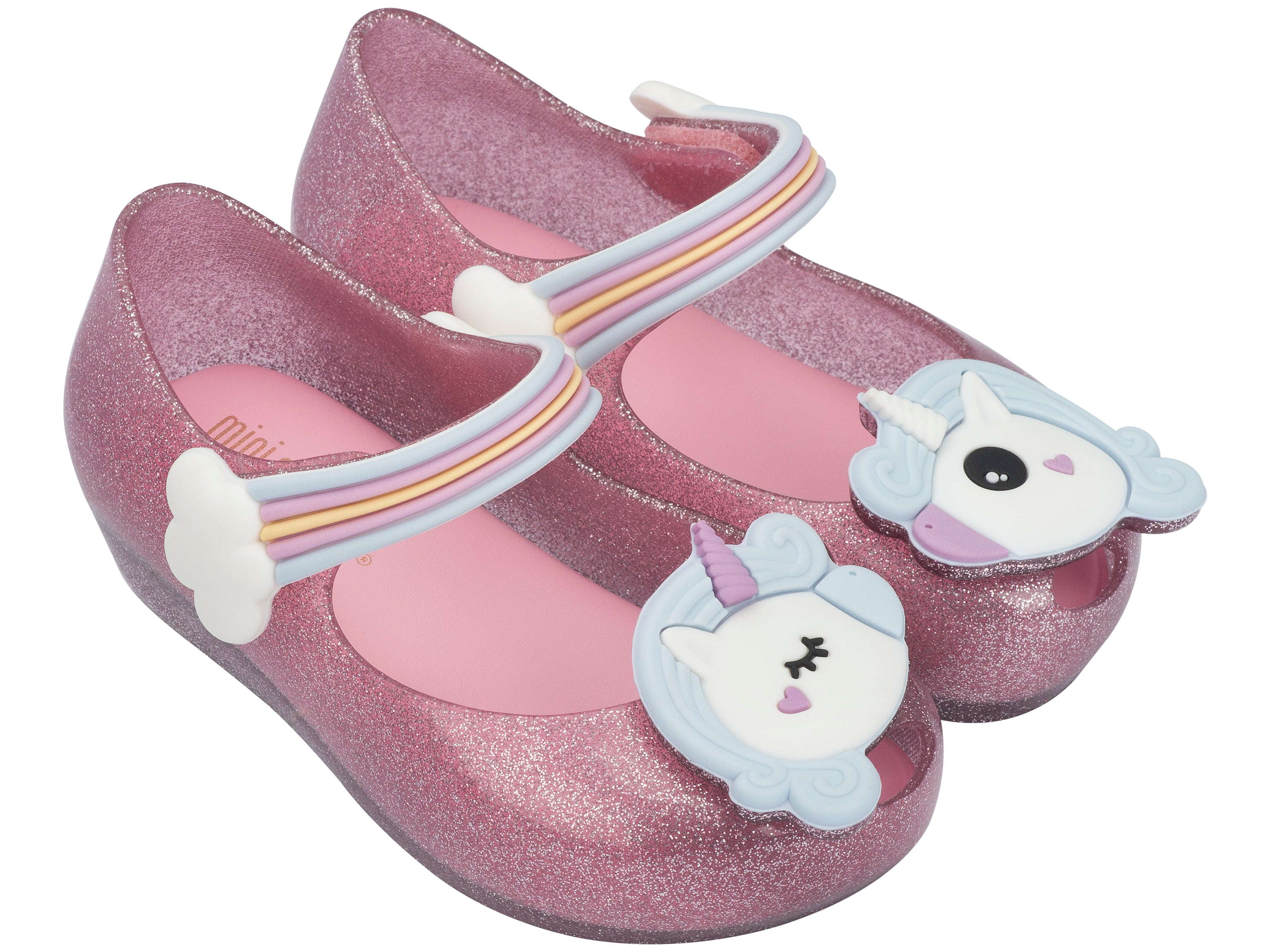 cdec877828c Mini Melissa Ultragirl Unicorn Pink Glitter – Little Troopers Shoes