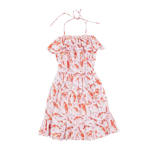 ARIEL DRESS - GOLDFISH PRINT