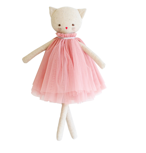 AURELIE LINEN CAT DOLL BLUSH