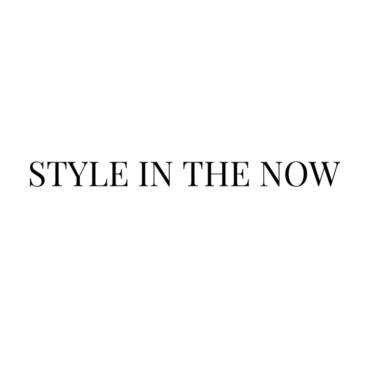 Style in the Now