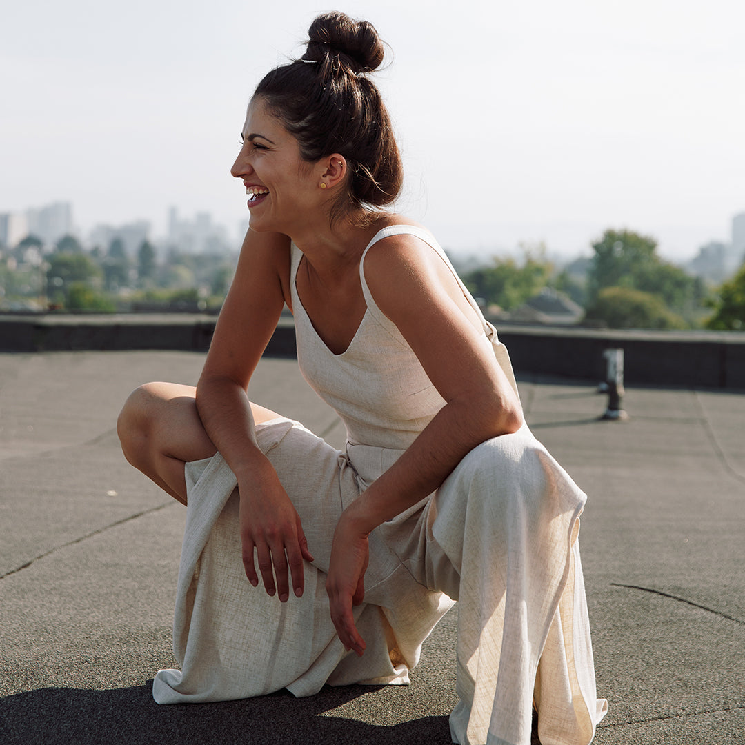 Florence jumpsuit in natural
