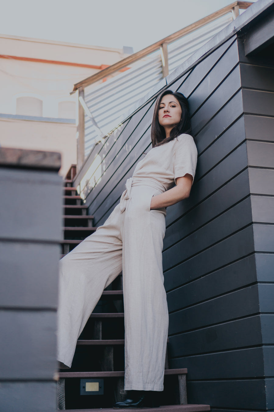 Isabel Jumpsuit - Natural
