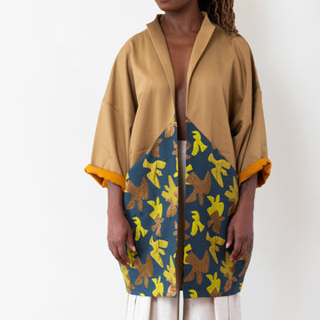 Yuki Jacket - Blue/Gold