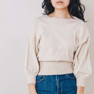 Belle Sweater, Winter Cream