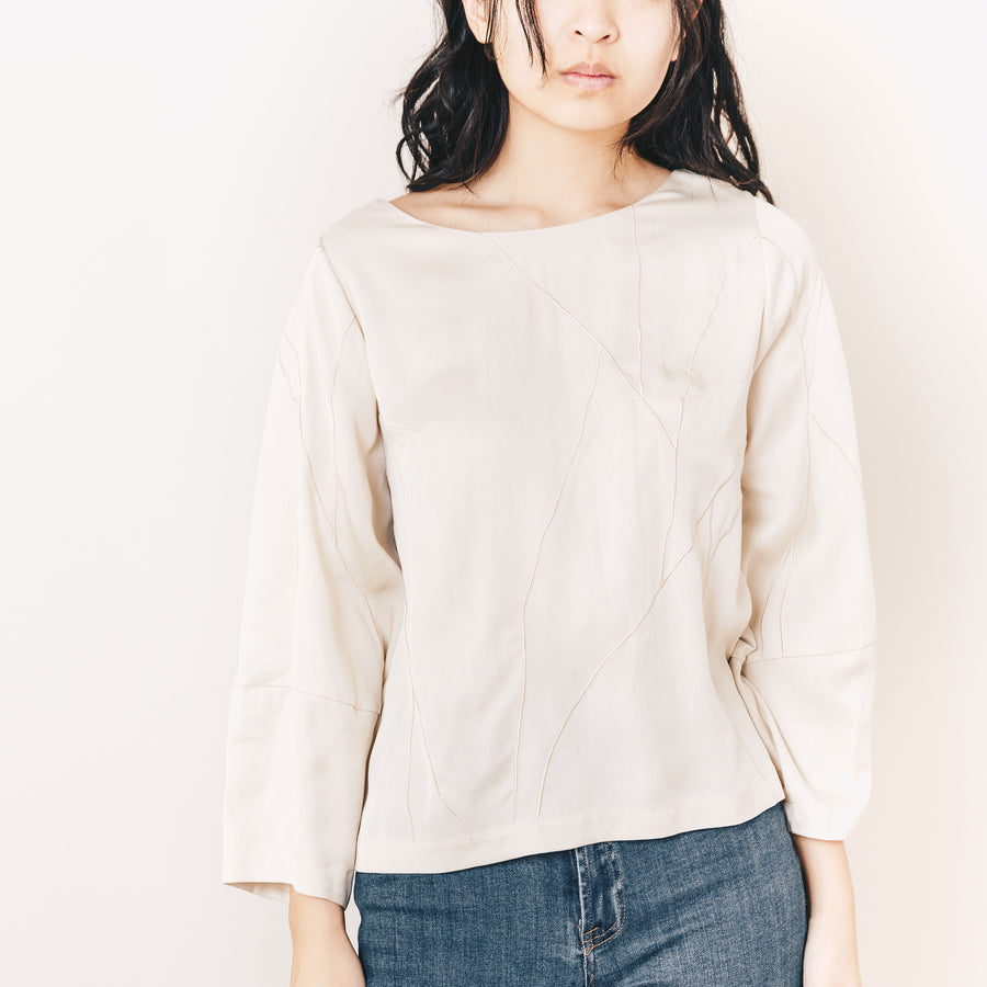 Lucia Blouse, Oyster