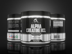ALPHA- creatine HCL - Alpha Fuze Nutrition