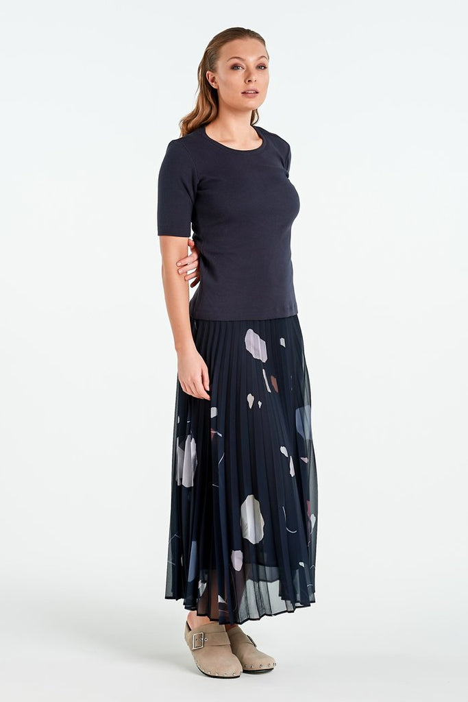 Nyne Bond Skirt - Ink Mineral