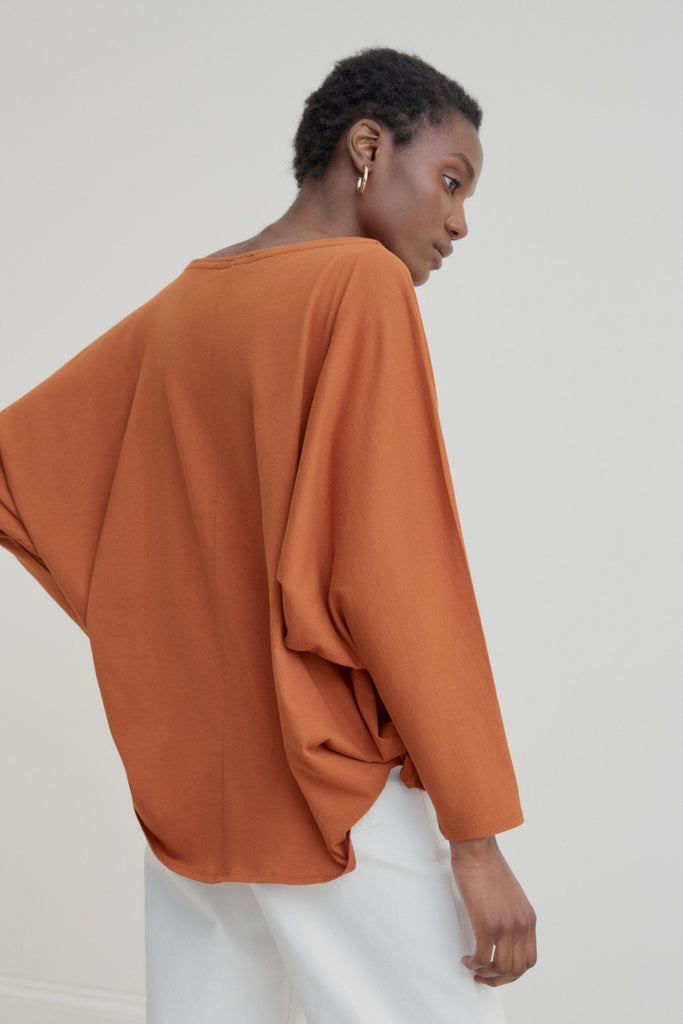 Kowtow Relaxed Boat Neck Top