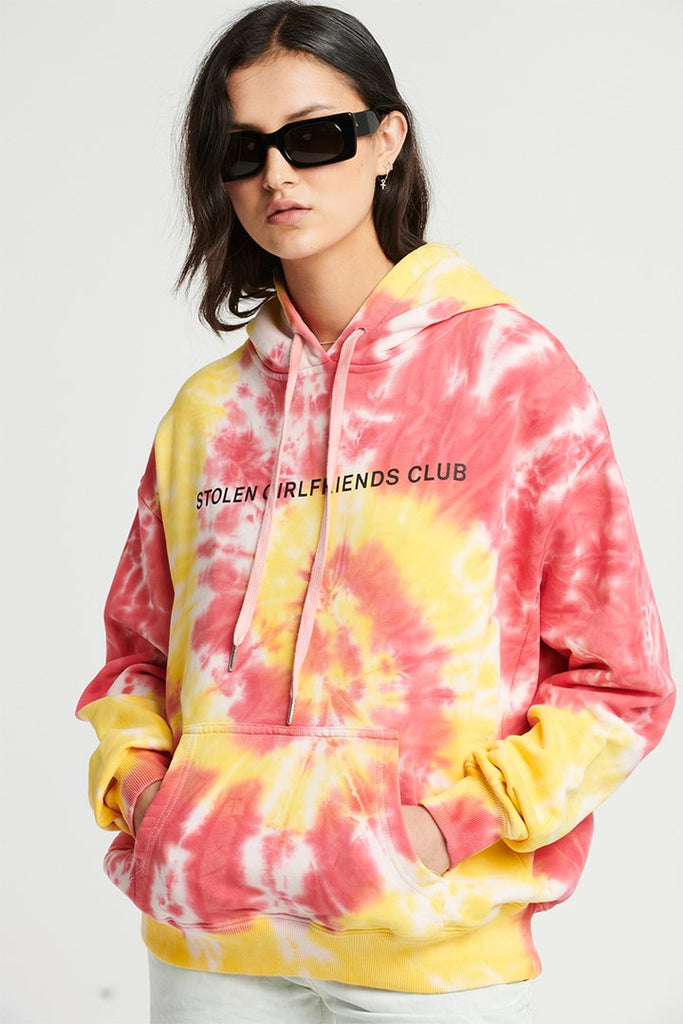 Stolen Grilfriends Club Text Logo Hood