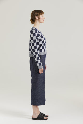 Standard Issue Gingham Crop Jumper