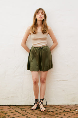 Marle Pepper Shorts - Khaki