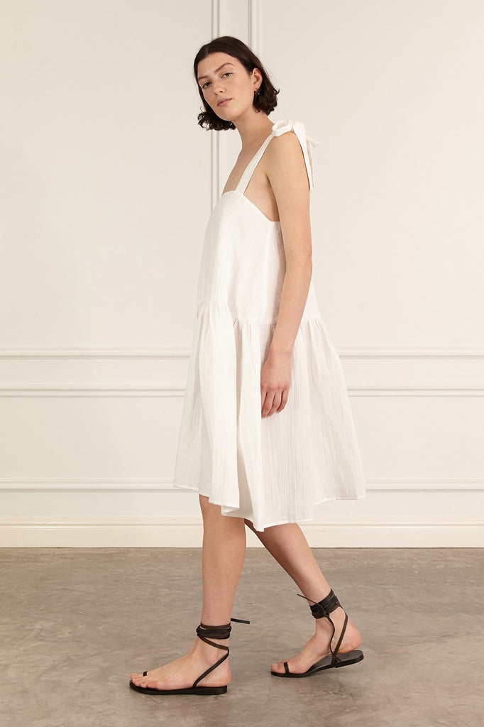 Marle Bing Dress - Ivory