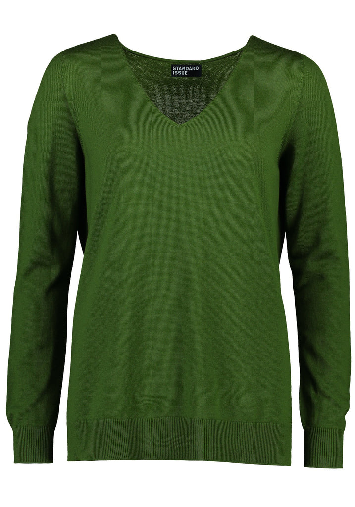 Standard Issue V Neck Slouchy Merino