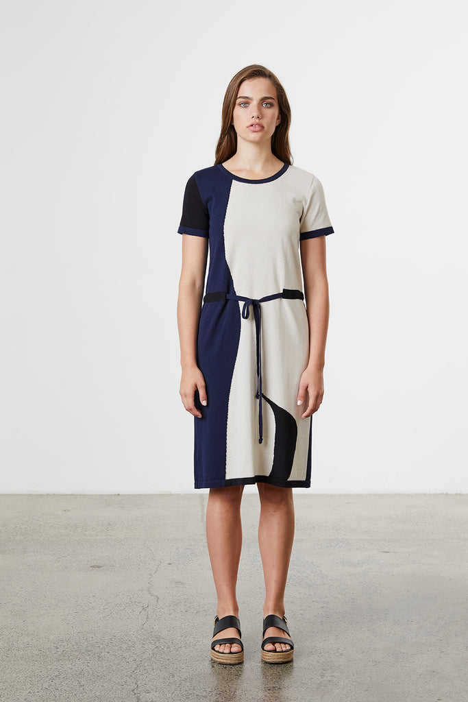 Standard Issue Abstract Dress