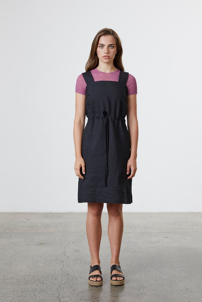 Standard Issue Linen Pinafore