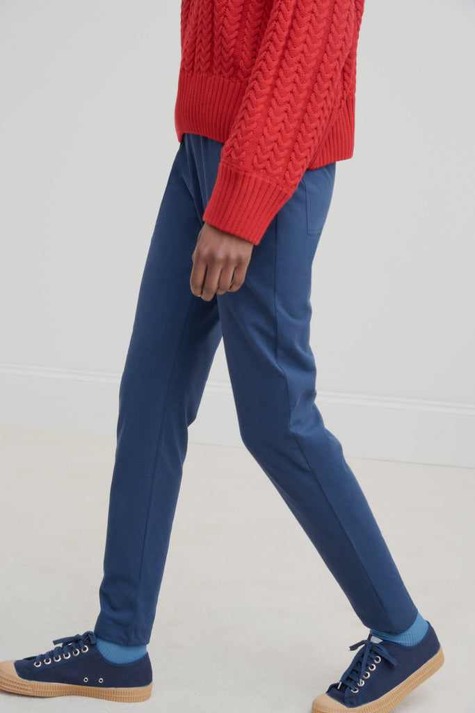 Kowtow Building Block Pants - Navy