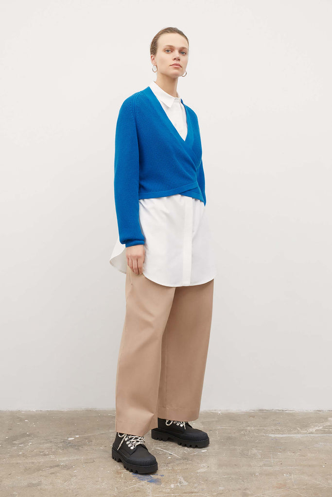 Kowtow Composure Cardigan - Buoy Blue