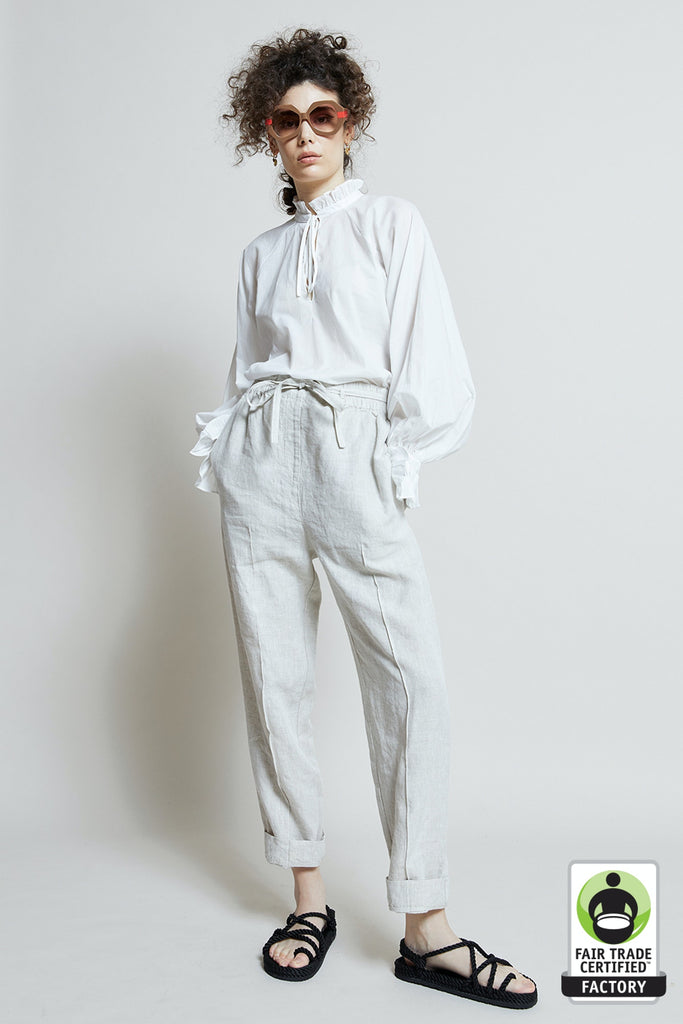 Karen Walker Linen Beach Pants