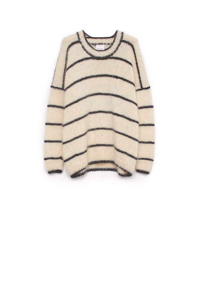 Kowtow Hand Knit Sweater - Stripe
