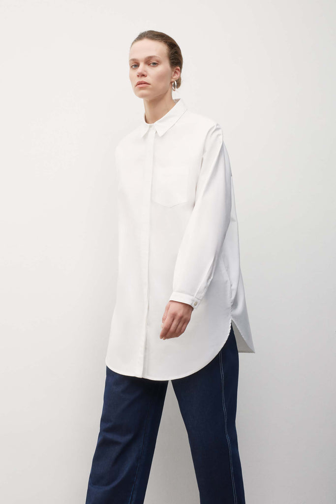 Kowtow Oversized Shirt - White`