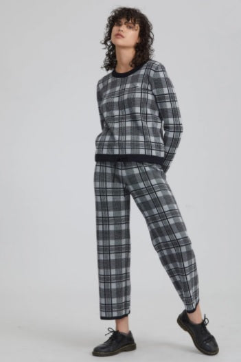 Standard Issue Plaid Trackie