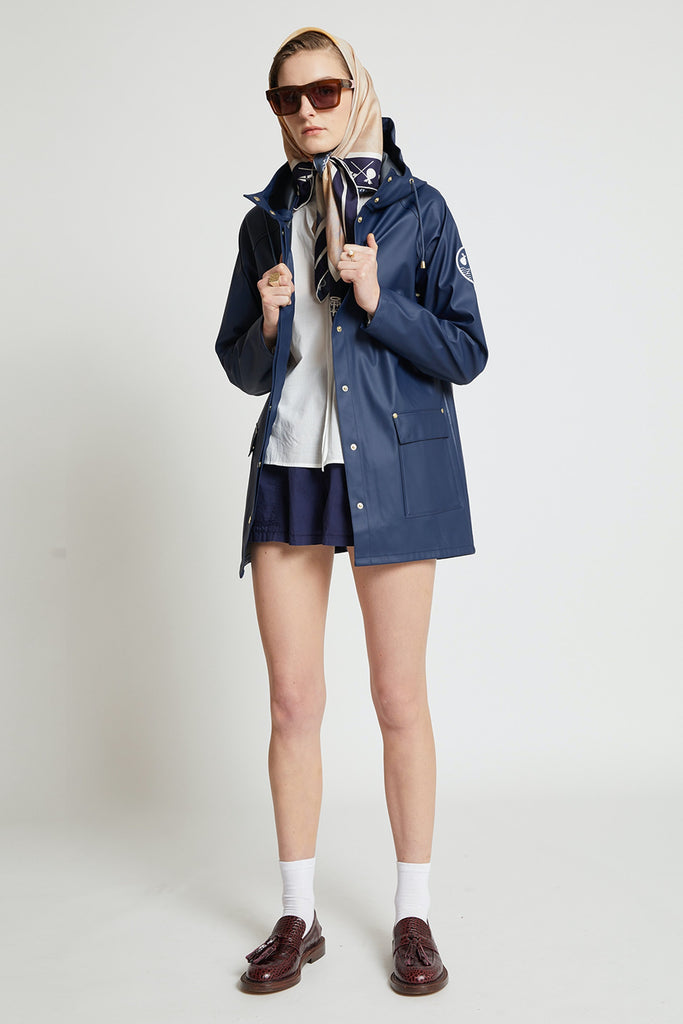 Karen Walker RNZYS Rain Coat - Navy