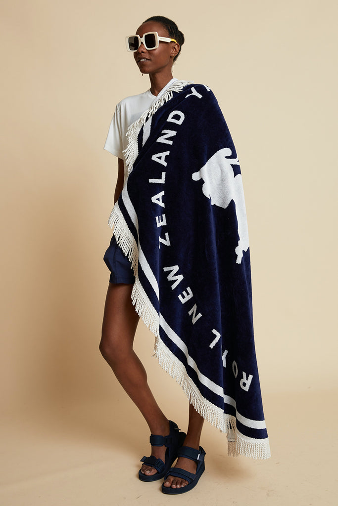 Karen Walker Round Runaway Sailor Girl Towel