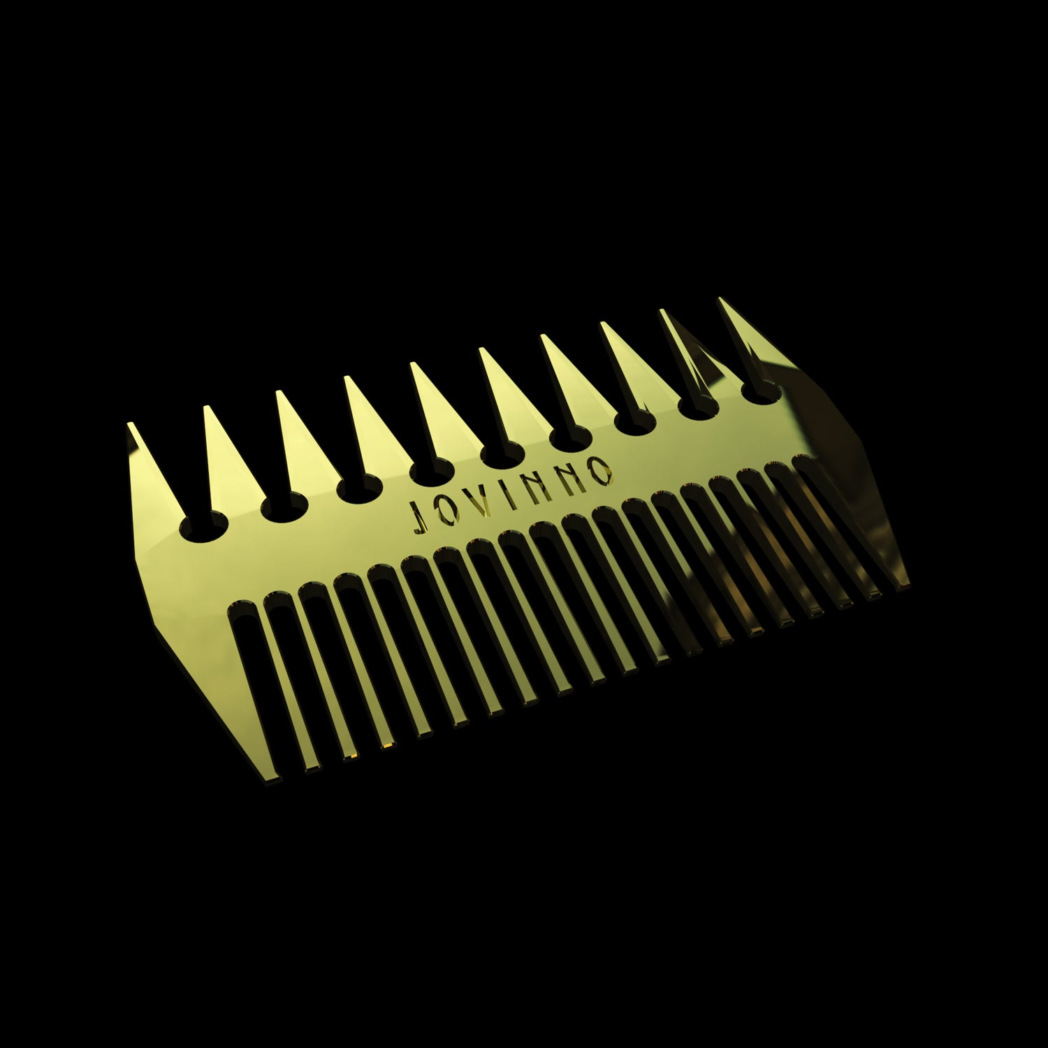 Premium Hair & Beard Metal Styling Comb