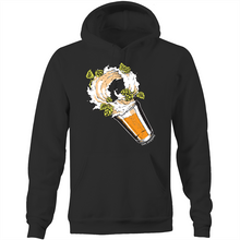 Load image into Gallery viewer, Get Hopped - Storm in a Beer Glass - AS Colour Stencil - Pocket Hoodie