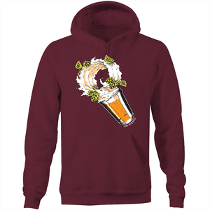 Get Hopped - Storm in a Beer Glass - AS Colour Stencil - Pocket Hoodie