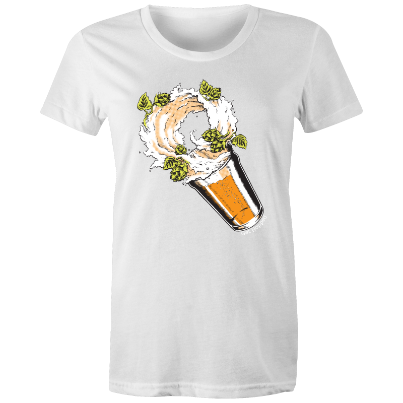Storm in a Beer Glass - AS Colour - Women's Maple Tee