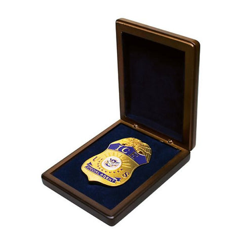 Wooden Box for Badge