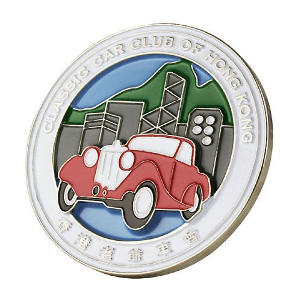 Car Badge - Classic Car Club HK