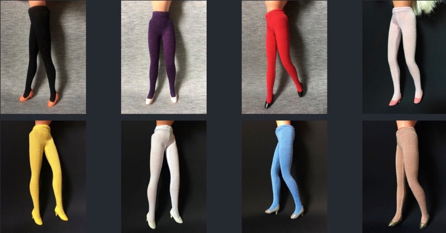New tights designed especially for 1980s Sindy