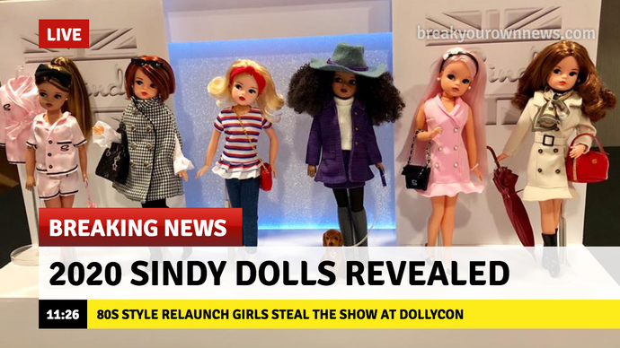 2020 Sindy dolls revealed at Dollycon