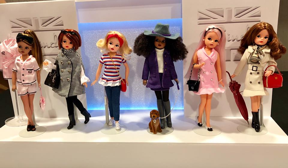 The six Sindy doll prototypes