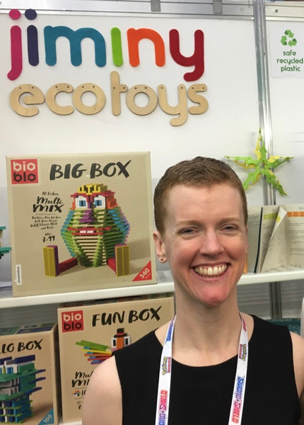 Jiminy eco toys co-founder Sharon Keilthy