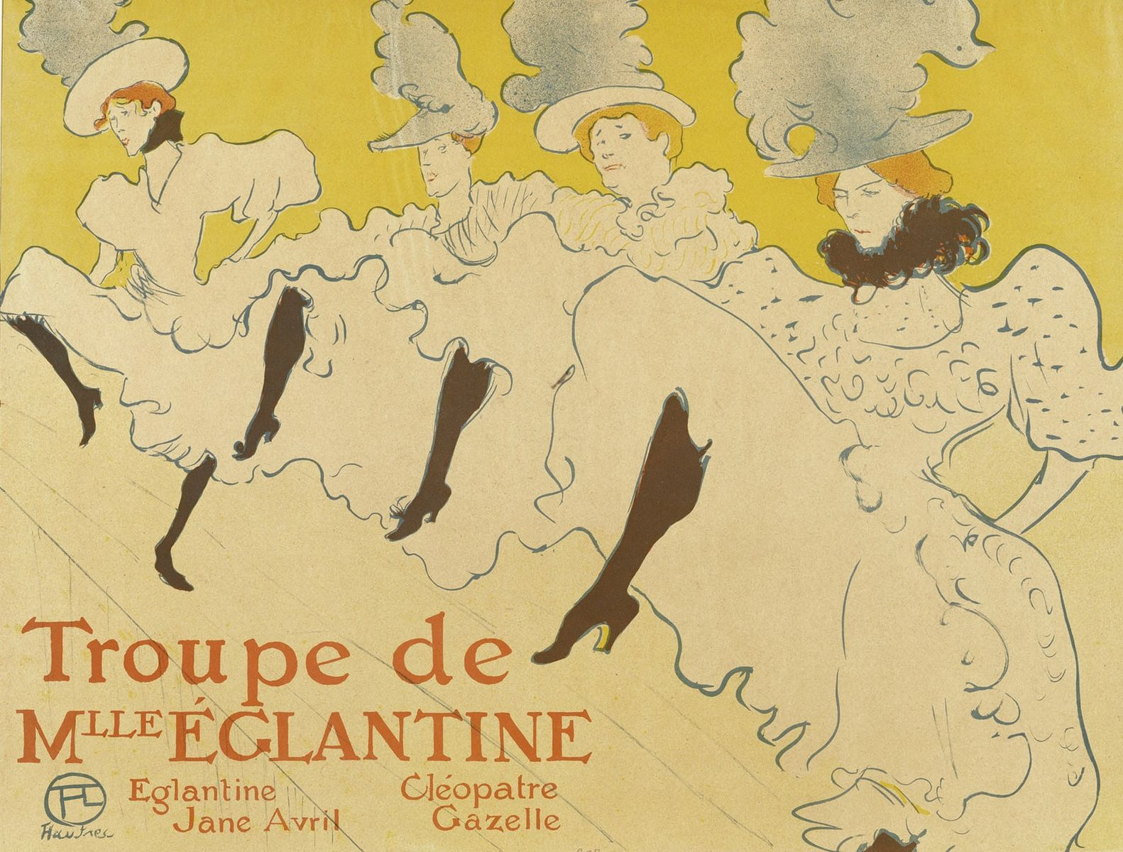 Toulouse Lautrec yellow poster