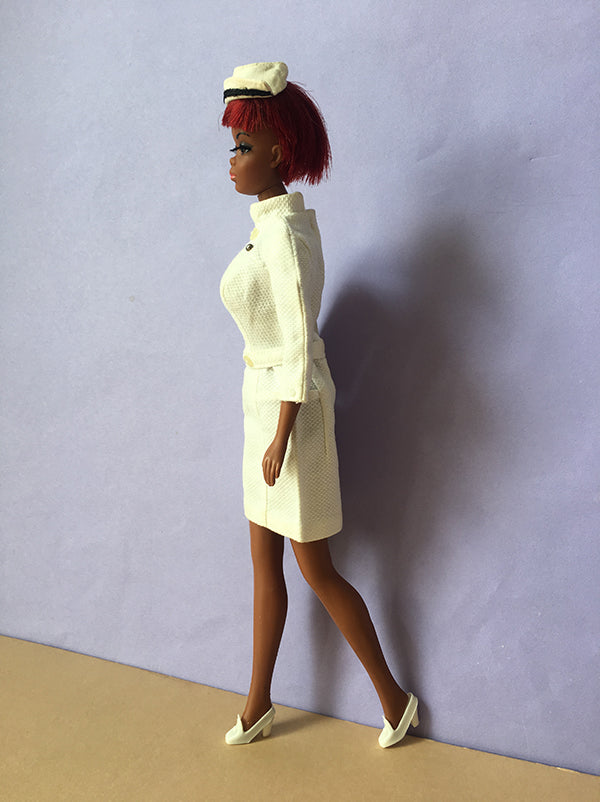 Mattel Julia doll side view