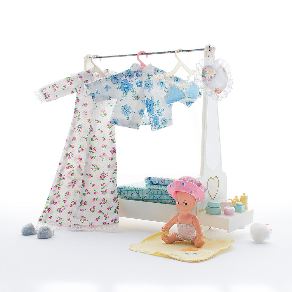 Baby clothes greeting card