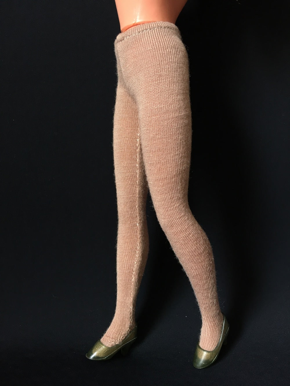 ShimmyShim finished tights in beige
