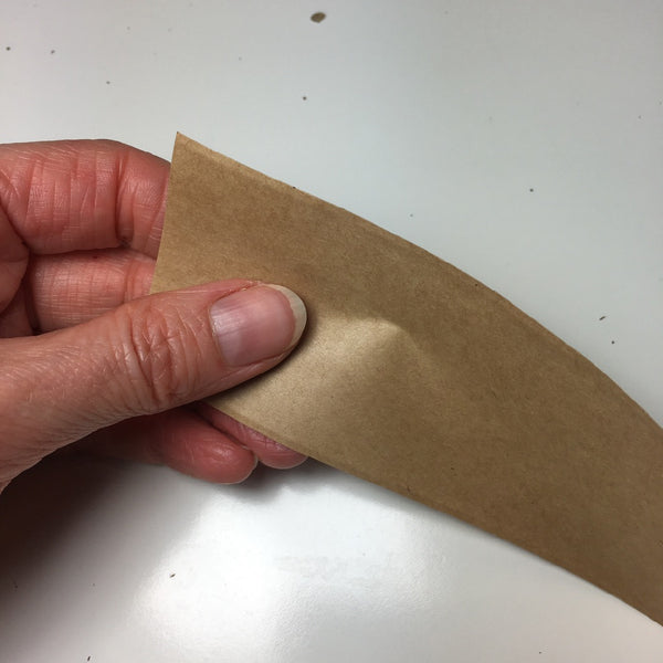 Surface of the eco friendly parcel tape from Kite