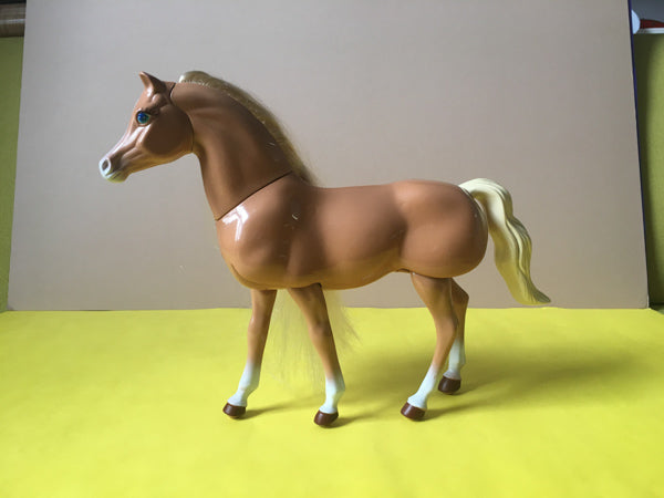 Barbie Walking Beauty articulated horse