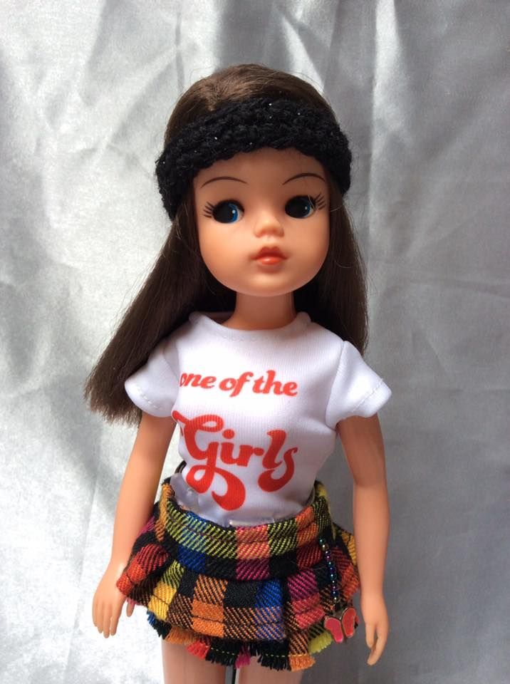 ShimmyShim 'One of the Girls' T-shirt in photo by Wendy Lyon