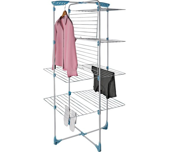 Flat shelf drying rack