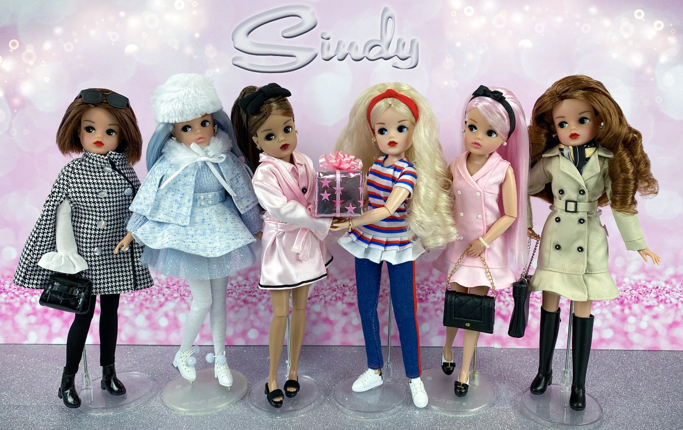 6 September - latest photo of new Sindy dolls